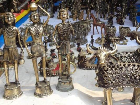 Dhokra Tribal and Nandi Figurines