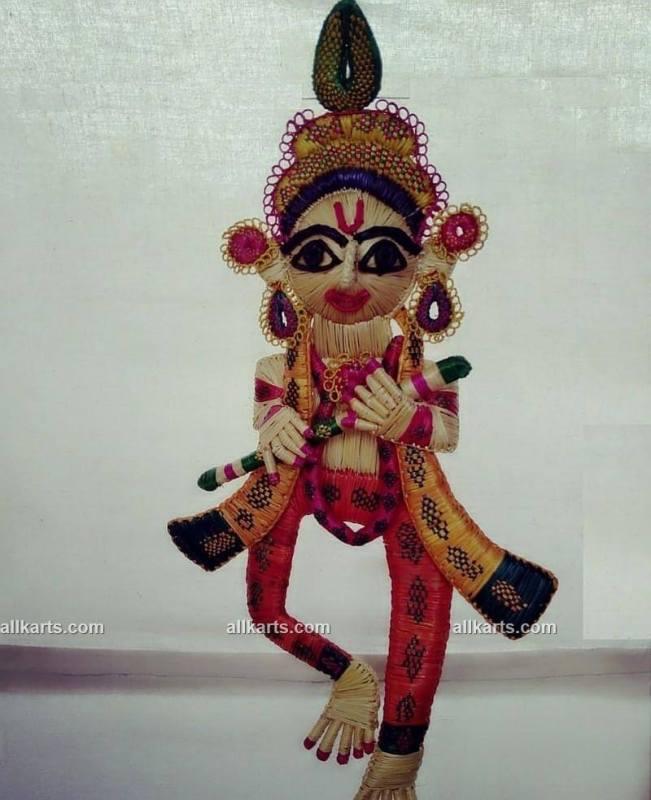 Sikki Grass Lord Krishna