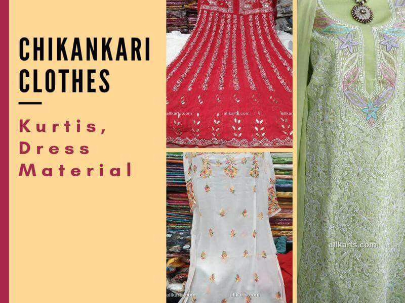 Chikankari Clothes