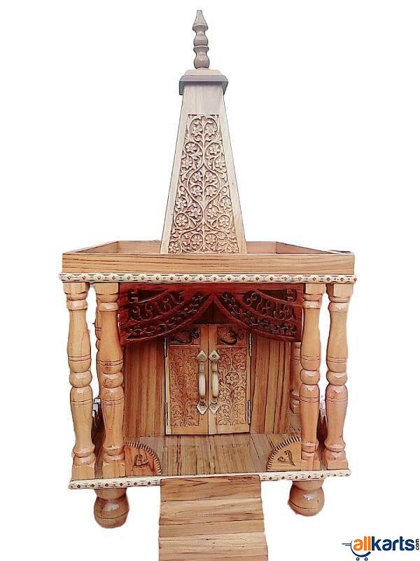 Temple Made of Sheesham Wood