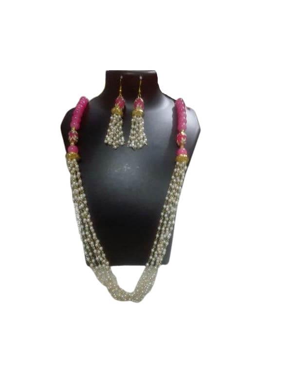Beaded Chain Jewellery Set
