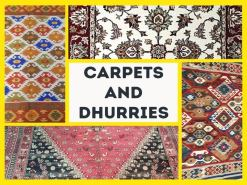 Handloom Carpets and Dhurries