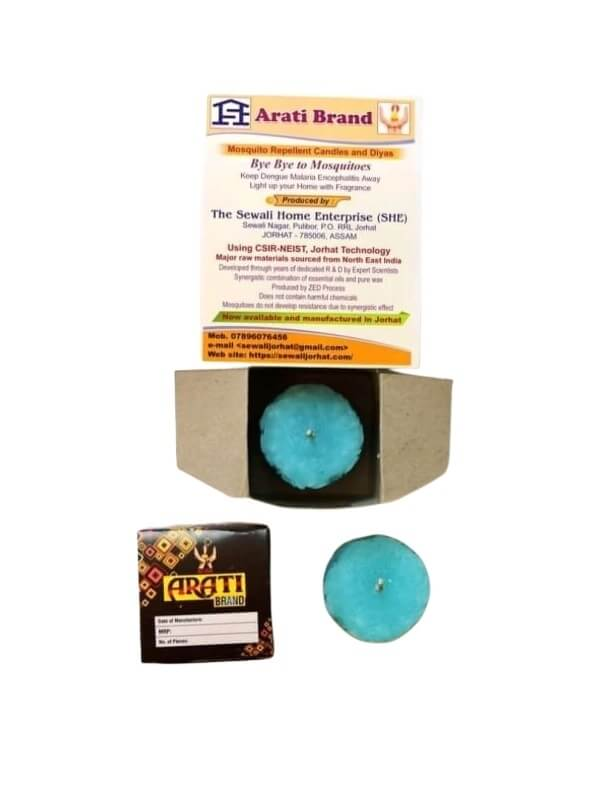 1 Piece Paraffin Wax Herbal Aroma Designer Candle