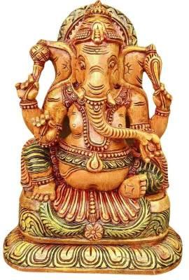Wood Carving Ganesha