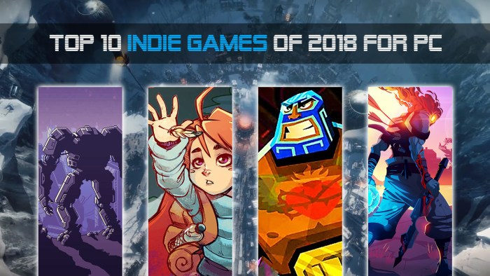 Top 10 Indie Games of 2018 for PC