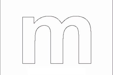 Printable Letters M Letter For Kids Alphabet Block Hunt Worksheet MyTeachingStation Com