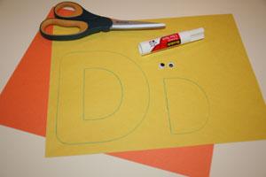 Letter D Duck Craft All Kids Network