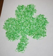 green rice shamrock
