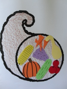 Bountiful Thanks Greeting Card Craft All Kids Network