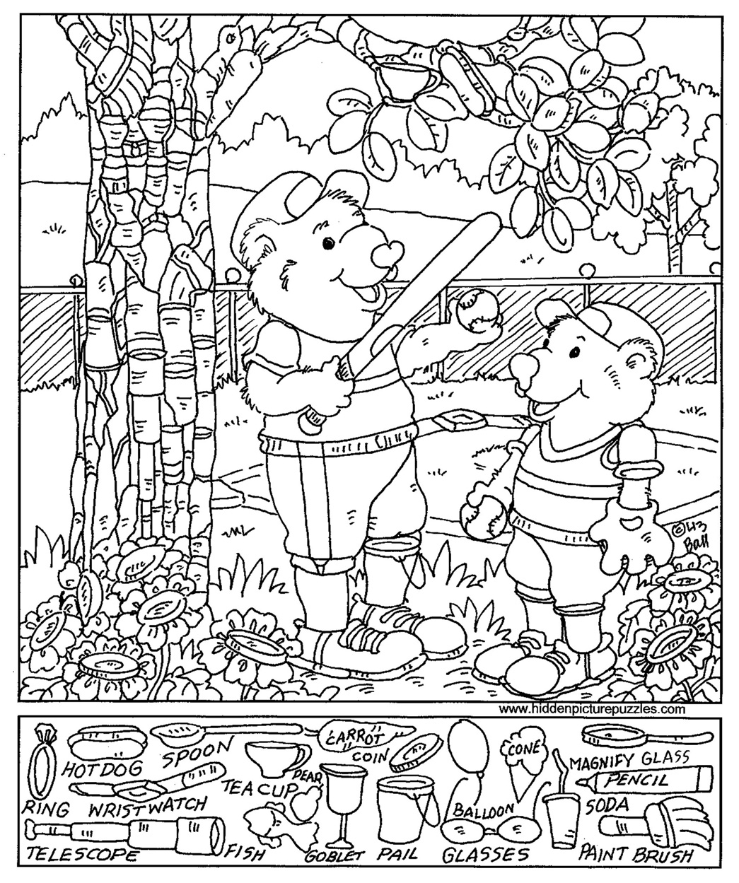 Winter painting pages - Glass Painting Coloring Pages 51