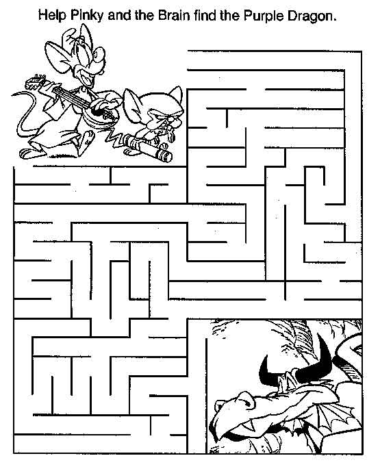 maze coloring pages # 16