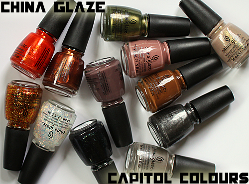 China Glaze Capitol Colours Hunger Games Nail Polish