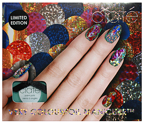 Ciate Colourfoil Manicure Foil Nails Nail Art Get Your Shine On With A Very From Ciaté All