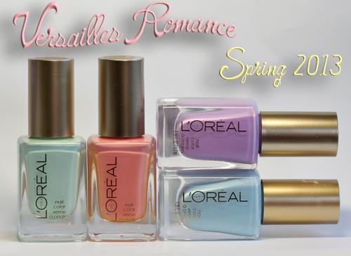 Loreal Paris Versailles Romance Colour Riche Nail Polish
