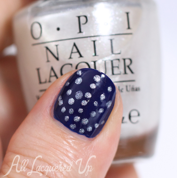 Opi Umpires E Out At Night Nail Art