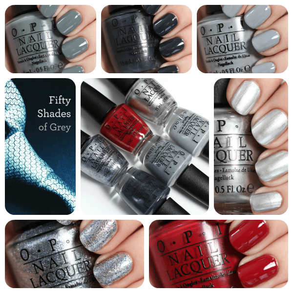 Opi 50 Shades Of Grey Swatches Via Alllacqueredup
