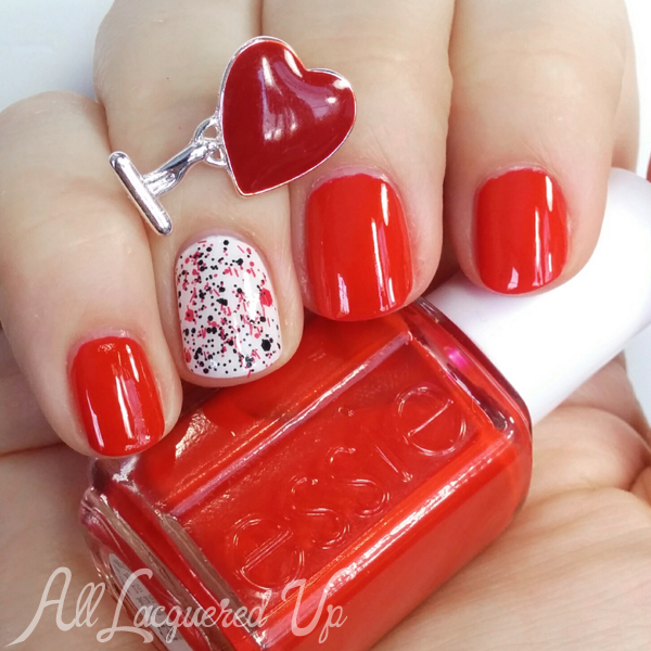 Valentine S Day Red Nails Via Alllacqueredup