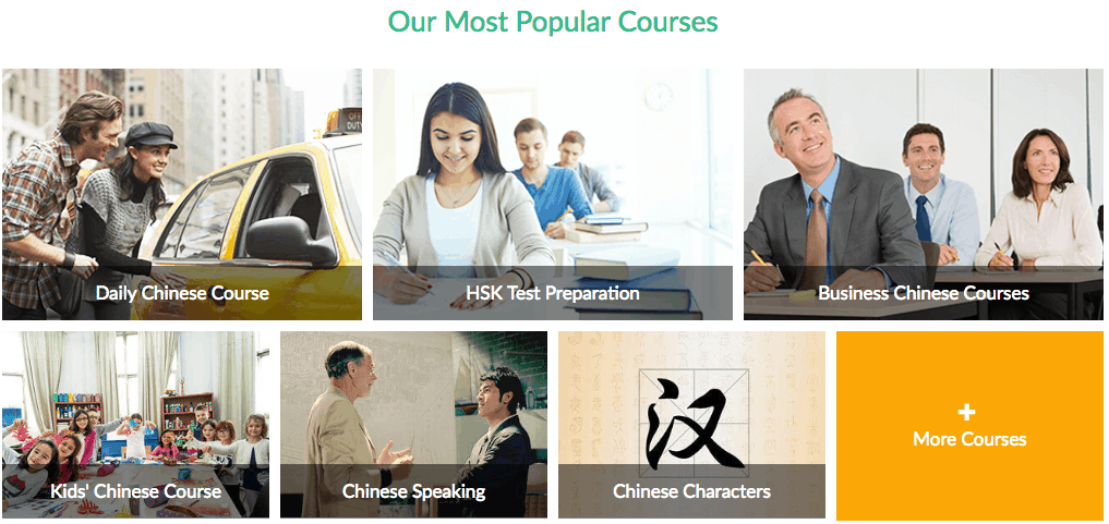 Hanbridge Mandarin Courses