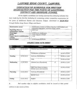 adsj date sheet