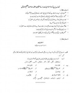 Syllabus Islamiat and Urdu