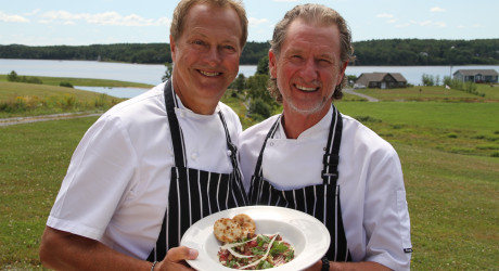 Chefs with starter