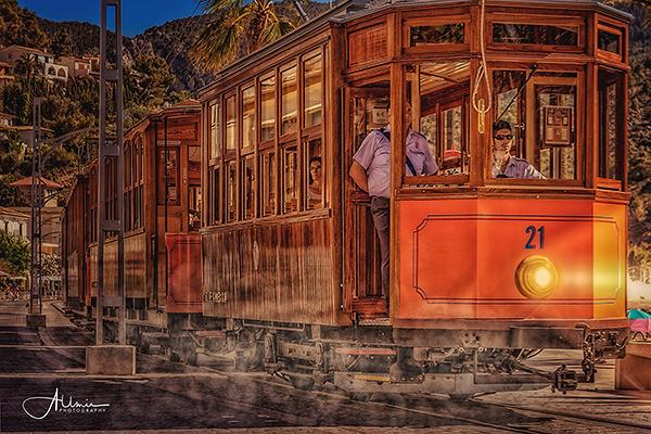 Straßenbahn Mallorca Composing Allmie