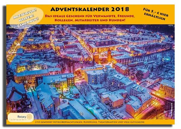 Rotary Club Bernau Kalender Aktion 2018 Allmie BernauLive