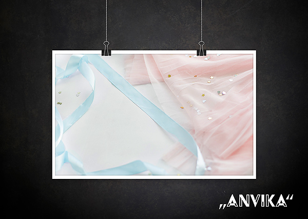 Backdrop Annika girl Stoff new Born Textur für Fotografen Allmie