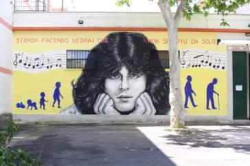 Per i 70 anni di Claudio Baglioni i fan gli regalano un murales