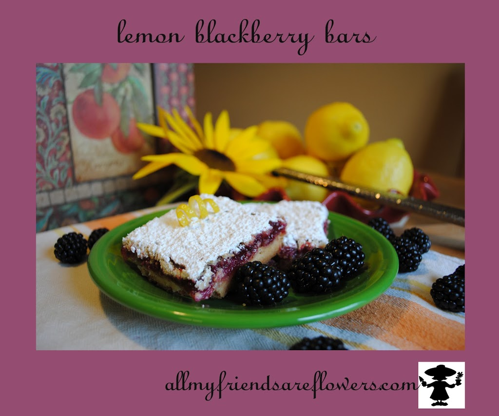 lemon blackberry bars allmyfriendsareflowers.com