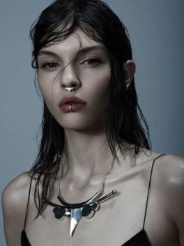 jewelry model clean