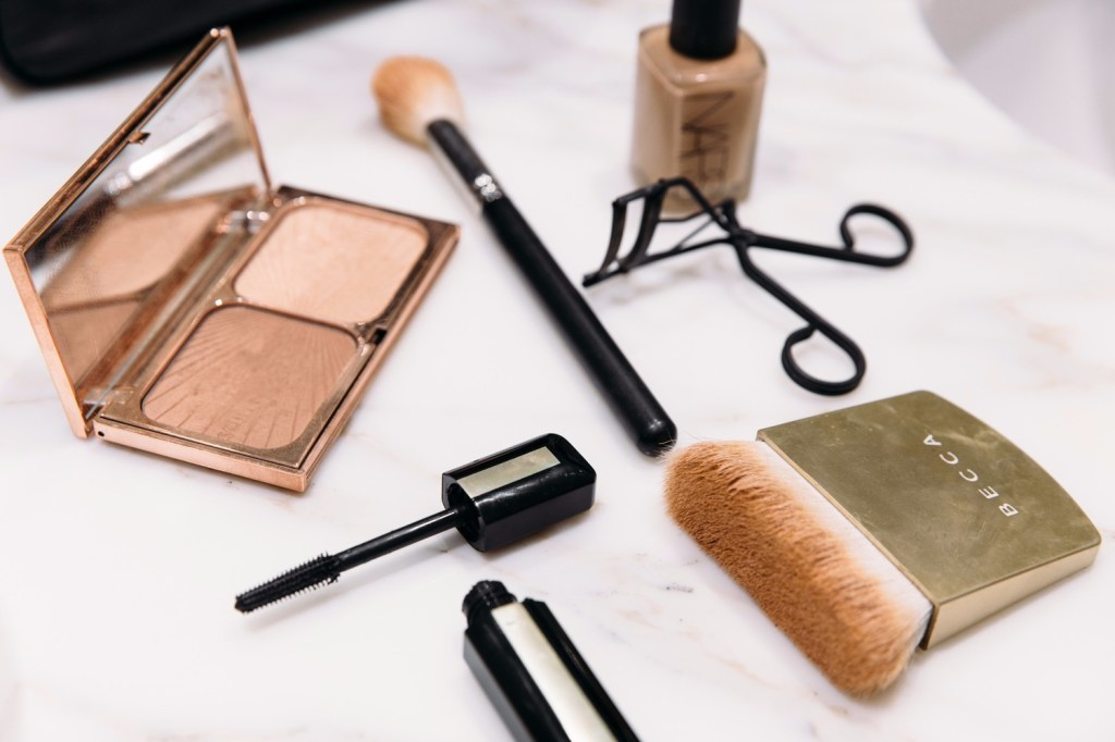 spring cleaning your make up bag