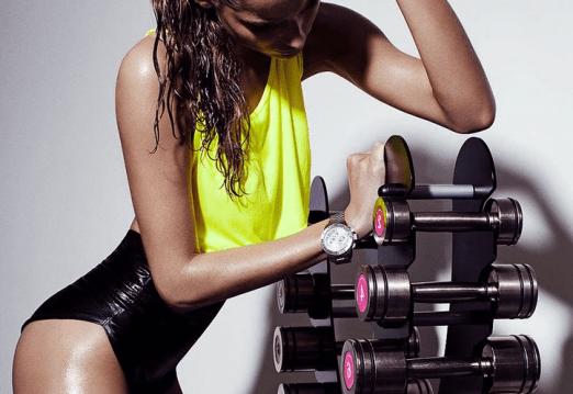 model exercises, train like a model