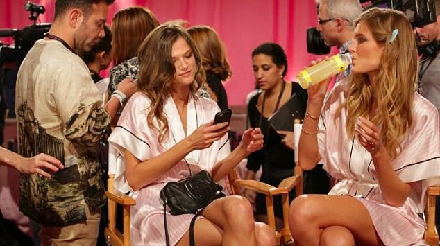 Model runway show