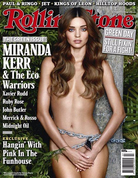 Miranda Kerr Rolling stones