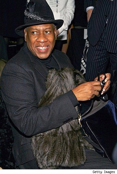 Andre Leon Talley, anna wintour, editor at large, antm judge