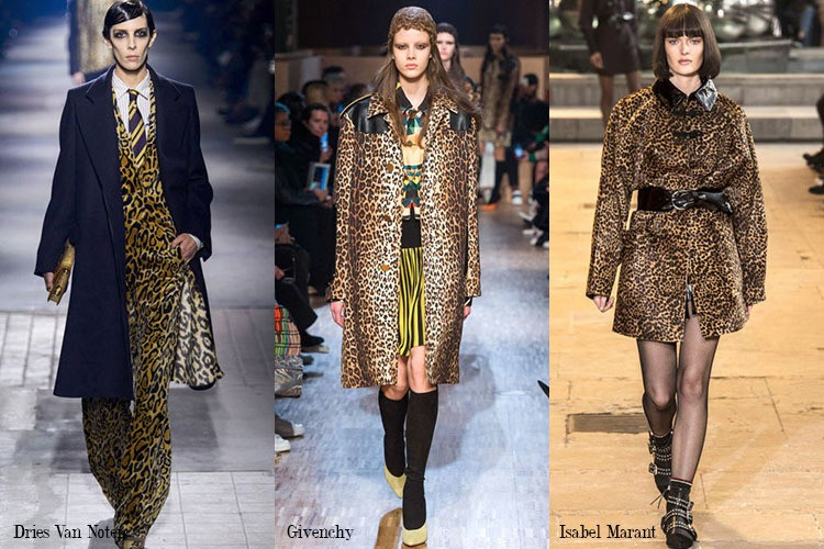 leopard print, leopard print runway,