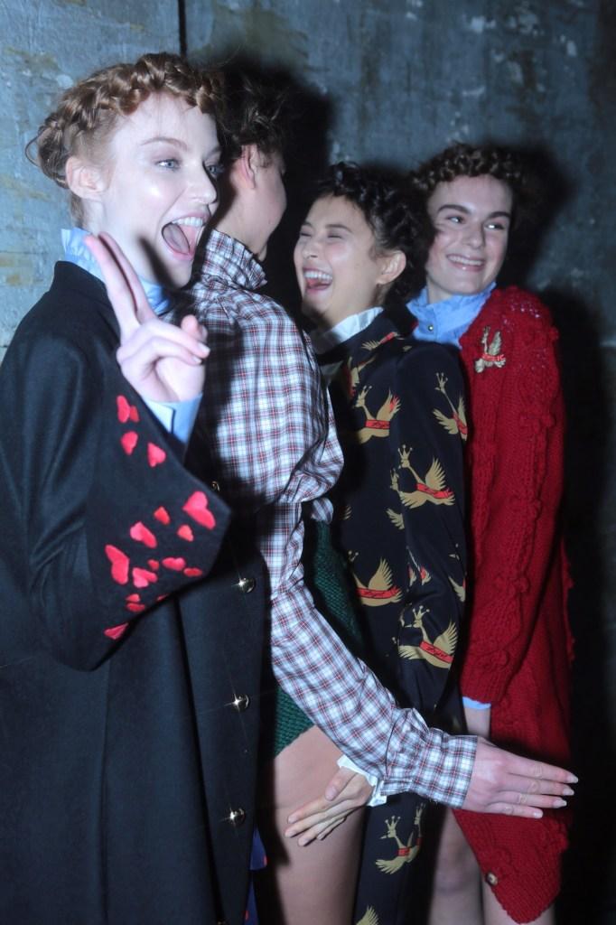 macgraw mbfwa, all my friends are models, mbfwa backstage, MBFWA17,