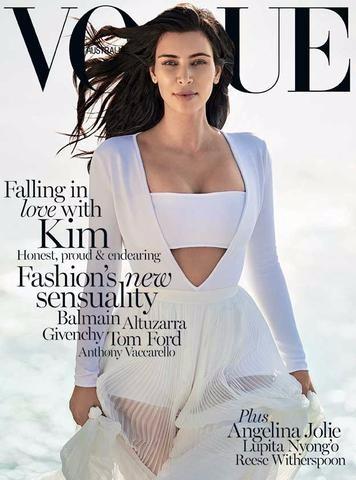 alan white kim kardashian, kim kardashian vogue australia, alan white hair stylist, alan white vogue