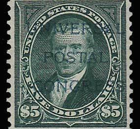 U.S.A. #278var VF Unu Universal Postal Congress Ovpt