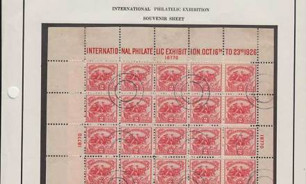 U.S.A. #630 Fine Used 1926 2c White Plains Sheet