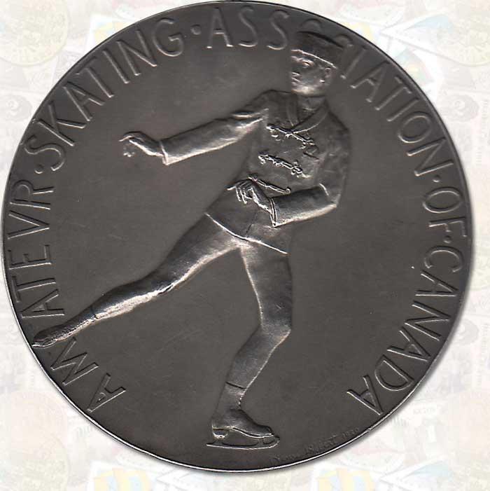 Canadian 1926 Figure Skating Championship Silver Medal
