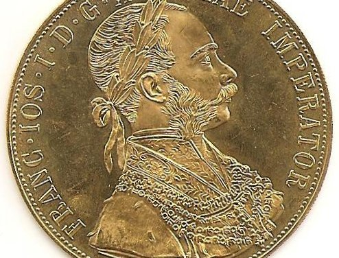 Austria Proof 1915 Gold 4 Ducat AGW.4398oz