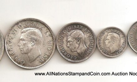 Canada BU 1937 1c-$1 6-coin Set