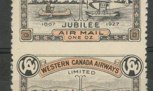 Canada #CL41a VF Unused 1927 10c Perf by Imperf Vertical Pair