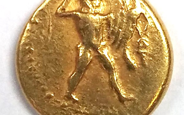 Pumiathon 392-361 BC 4.08g King of Kition Gold Half Stater