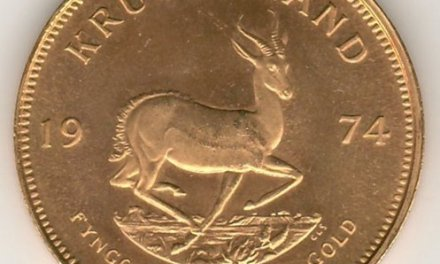 South Africa BU 1974 Ounce Gold Krugerrand