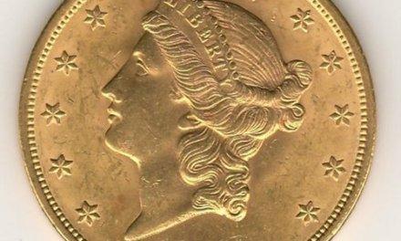U.S.A. BU 1904 Liberty Head $20 Gold Double Eagle