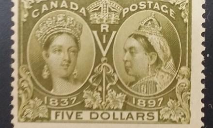 Canada #65 1897 $5 Jubilee