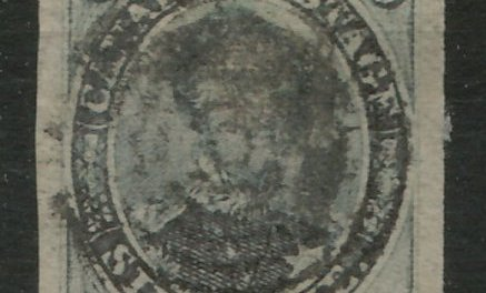 Canada #2 1851 6d Laid Paper 2004 Greene Cert